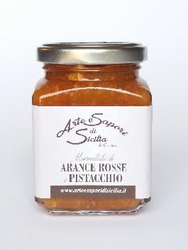Marmellata di Arance Rosse e Pistacchio