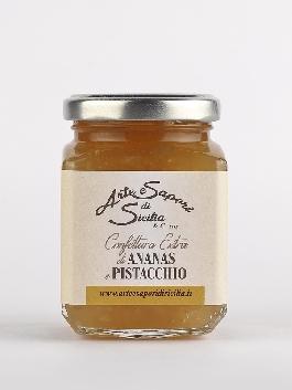 Confettura Extra di Ananas e Pistacchio