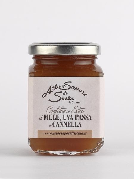 Confettura Extra di Mele,Uva Passa e Cannella