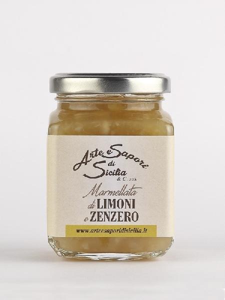 Marmellata di Limoni e Zenzero
