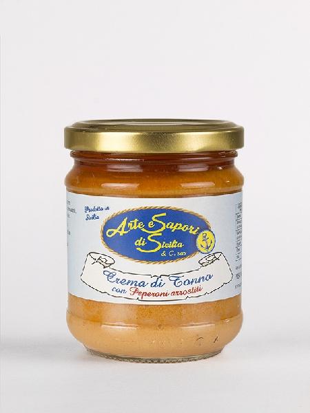 Crema di Tonno con Peperoni Arrostiti