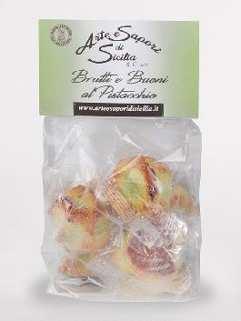 Pasta di Mandorla  Brutti e Buoni al Pistacchio
