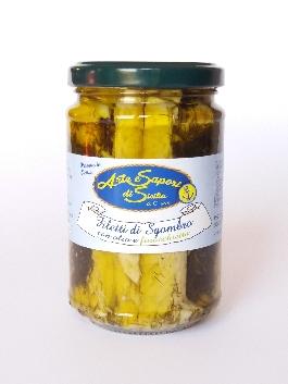 Filetti di Sgombro con Olio e Finocchietto